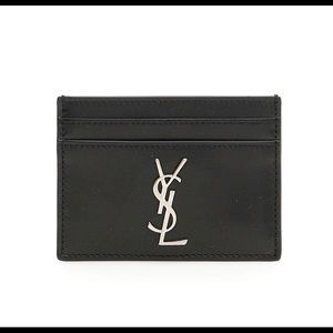 Yves Saint Laurent cardholder wallet